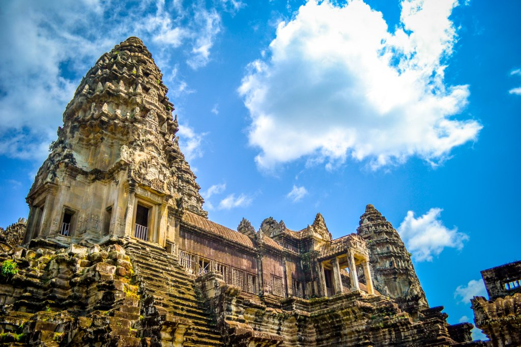 Visiting the Angkor Wat Temple in Siem Reap, Cambodia