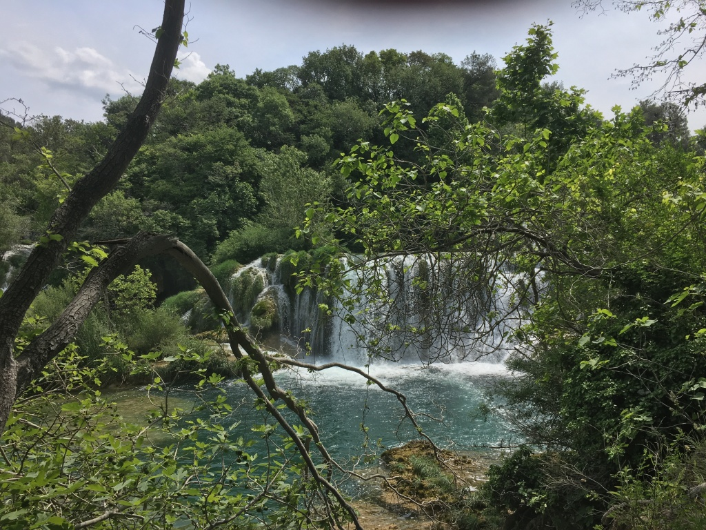 Krka Falls near Split, Croatia