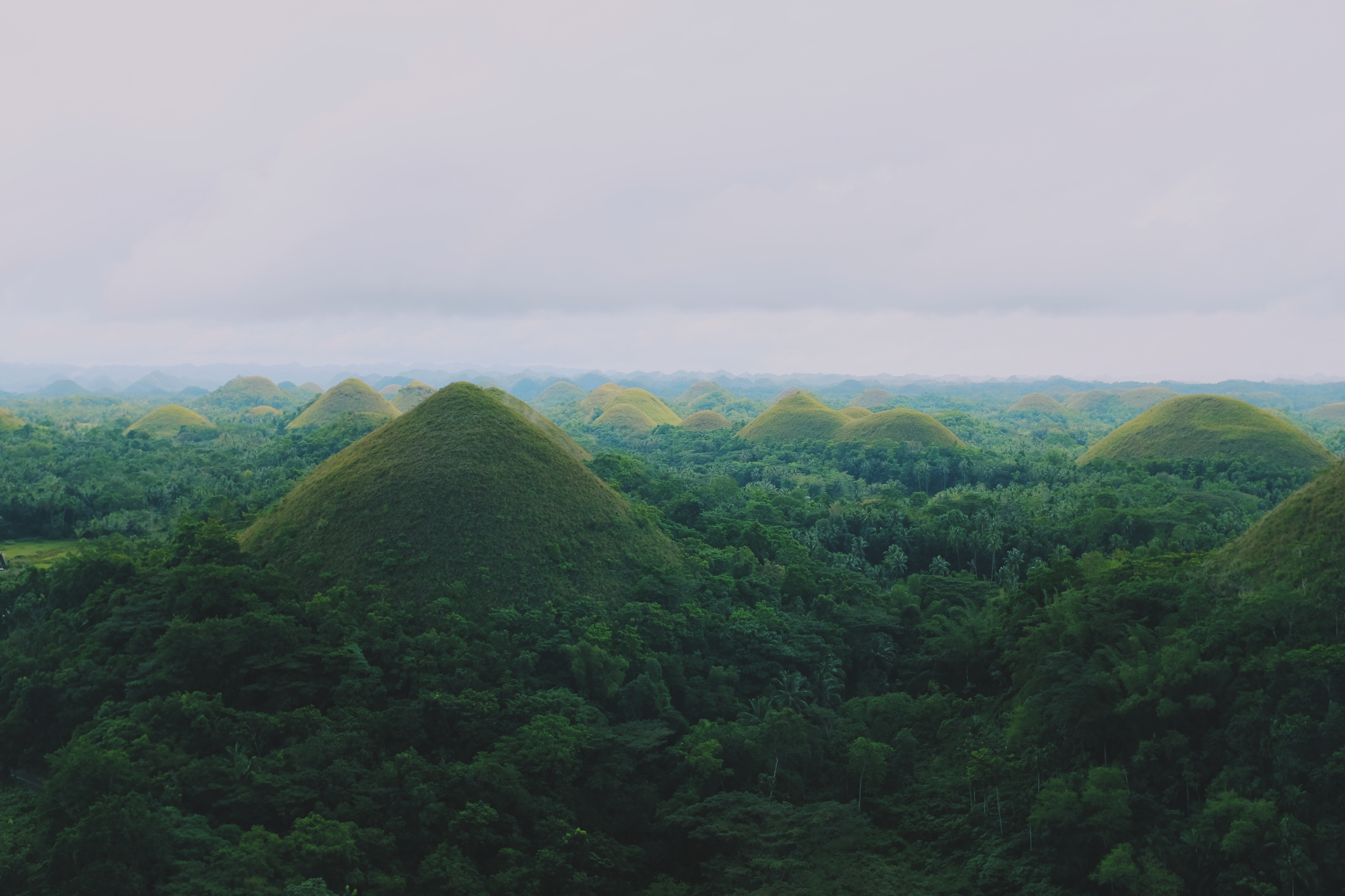 Chocolate Hills in the Philippines