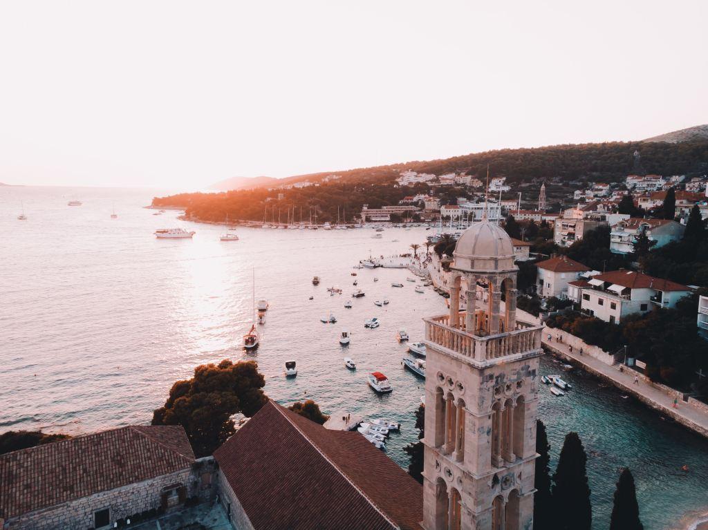 Old Town in Split, Croatia