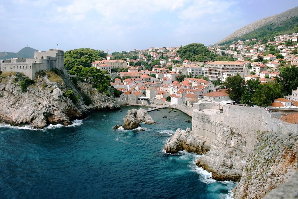 Zadar city on Adriatic Sea