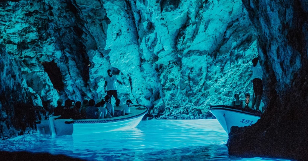 Blue Caves in Split
