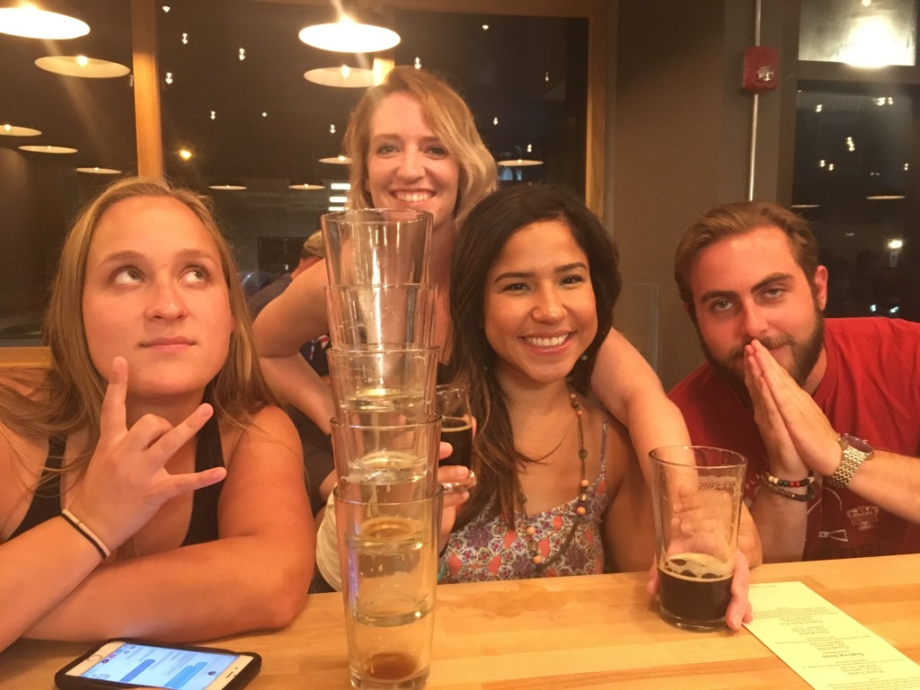 Grab a beer with friends at local brewery