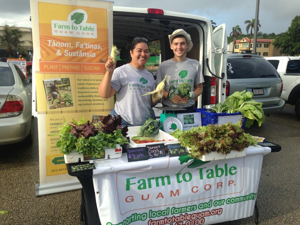 Local farmers' market sells home grown produce and other products