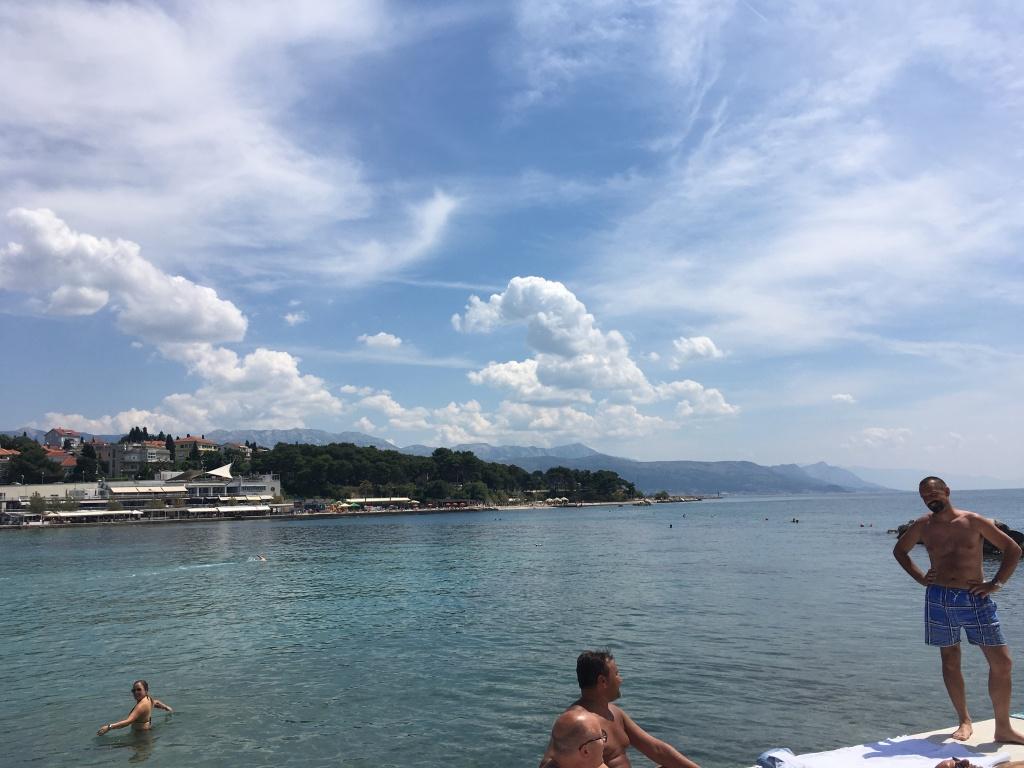 Bacvice Beach in Split
