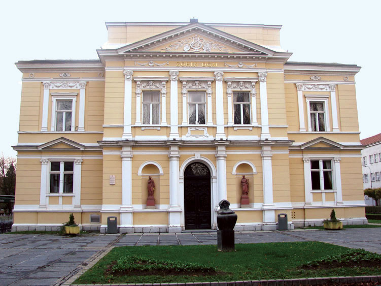 Karlovac town outside of Zagreb, Croatia