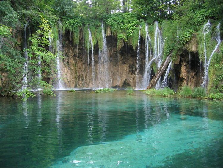 Plitvice Lakes National Park near Zadar