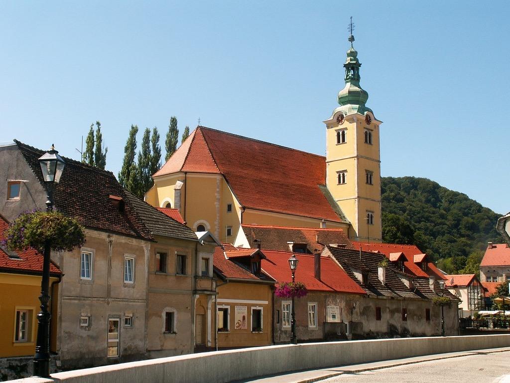 Medieval town of Samobor near Zagreb