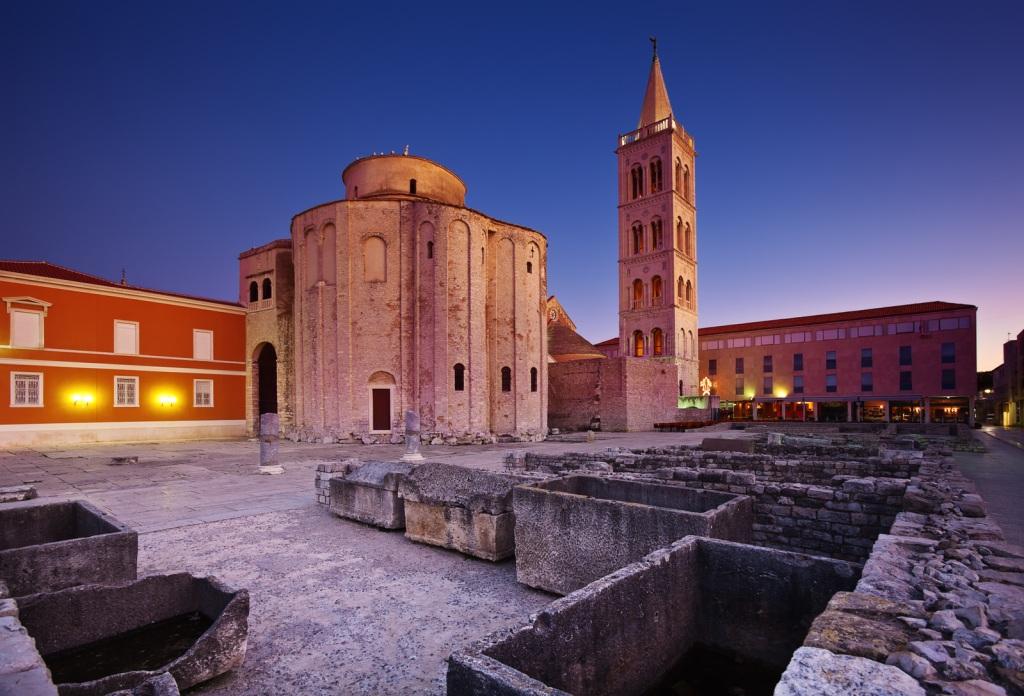 The Church of Saint Donatus in Zadar