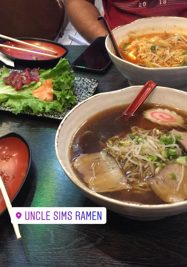Traditional Japanese-style ramen right in the heart of Guam