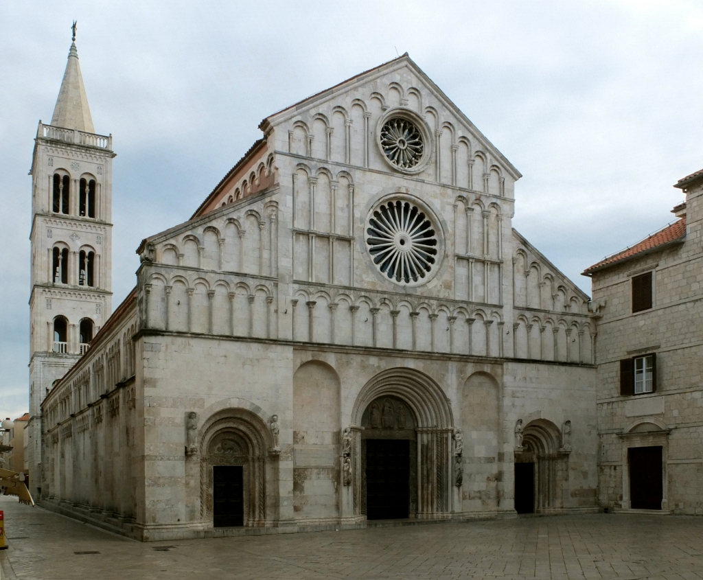The Cathedral of Saint Anastasia in Zadar