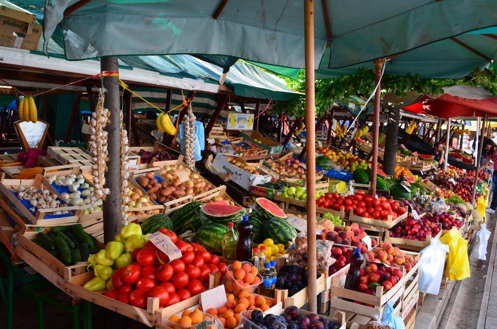 Shop at the Zadar Pijaca Market