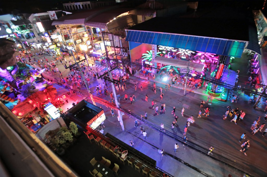 Bangla Road on Patong Beach in Phuket