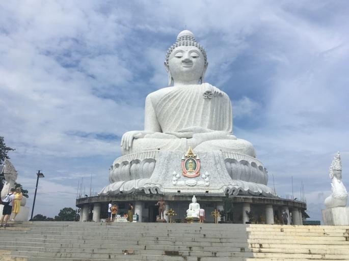 The famous Big Buddha statue in Phuket