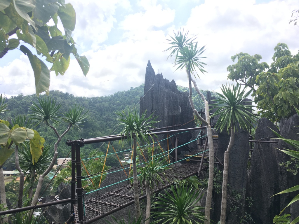 The Ferrata Canopy Walk in El Nido, Palwan