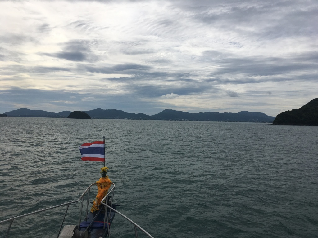 Island hopping in Phuket