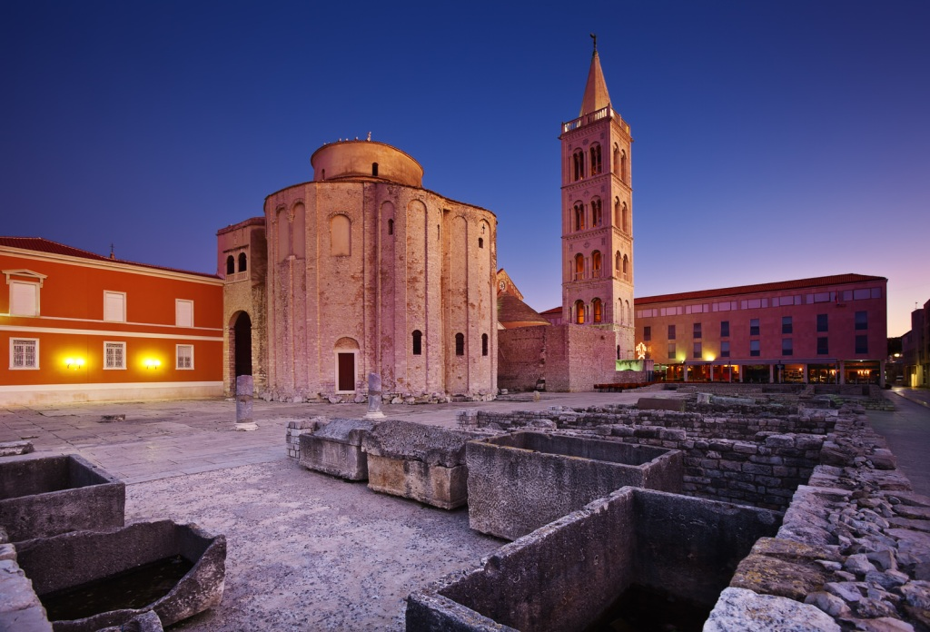 The Church of Saint Donatus in Zadar