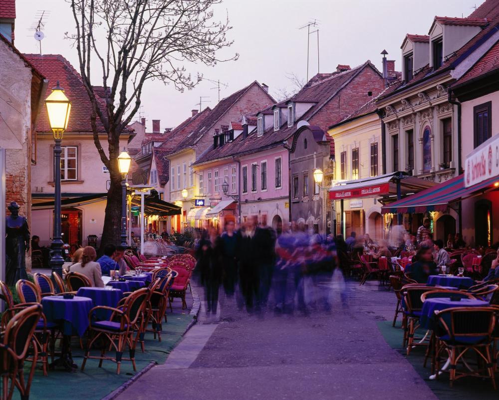 Kaptol Old Town in Zagreb