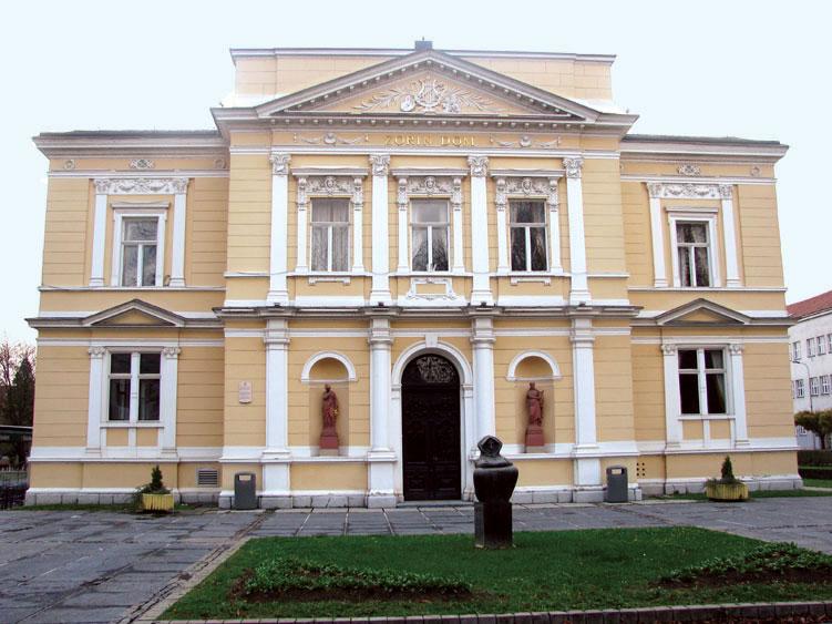 Karlovac town near Zagreb, Croatia