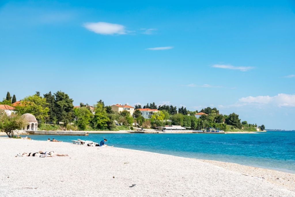 Kolovare Beach in Zadar