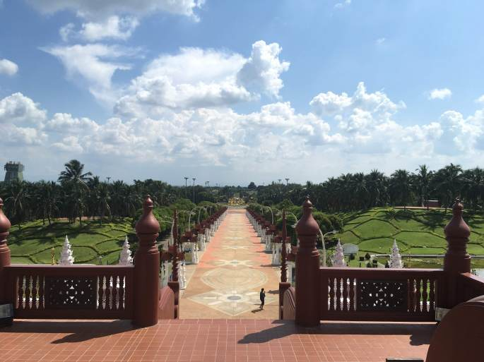 Rajapruek Royal Park outside Chiang Mai