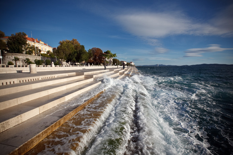 The Sea Organ in Zadar
