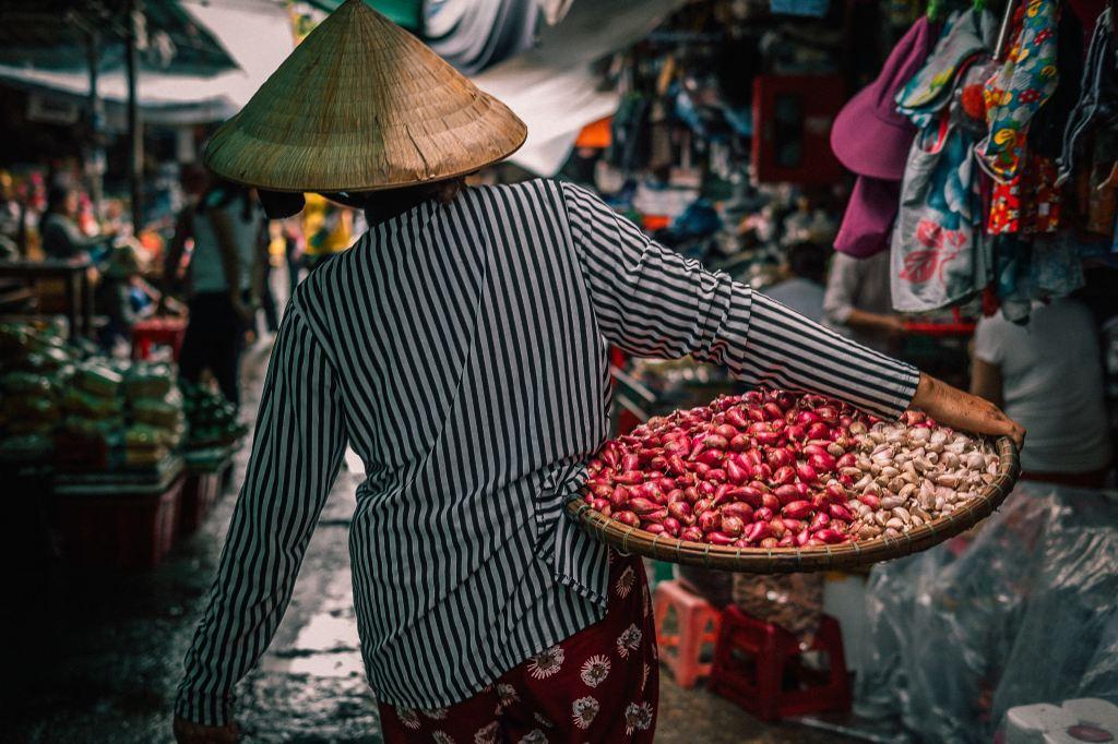 Phsar Nath Market in Battambang