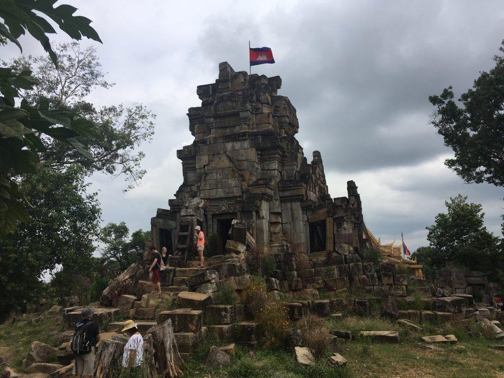 Wat Ek Phnom Angkorian temple near Battambang, Cambodia
