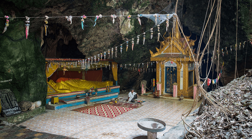 The Killing Caves in Battambang to memorialize the lives lost during the Khmer Rouge