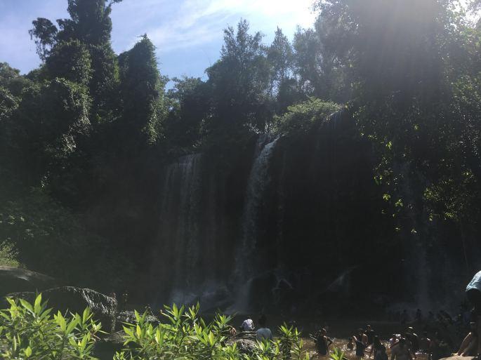Beautiful waterfalls in Kulen National Park