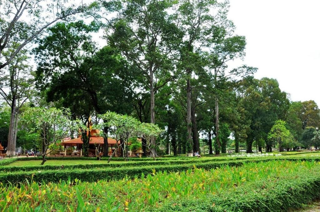 The Royal Gardens in Siem Reap, Cambodia