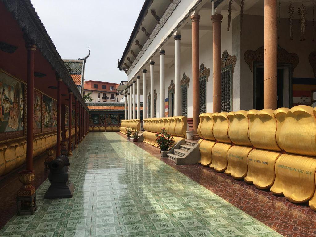 Wat Preah Prom Rath temple in Siem Reap, Cambodia
