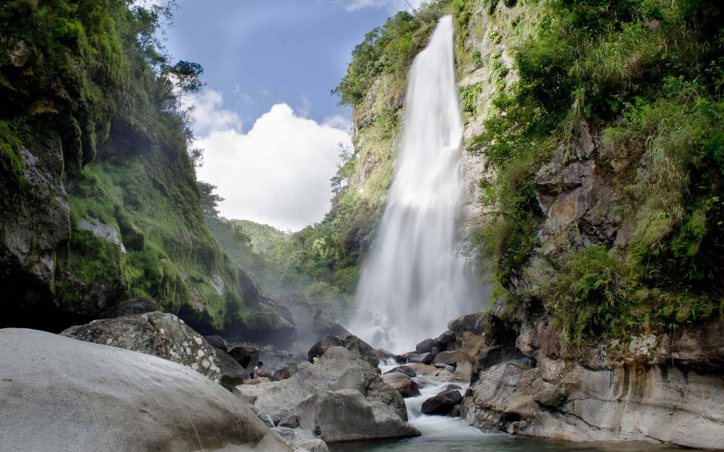 Waterfalls near Sagada in the Philippines