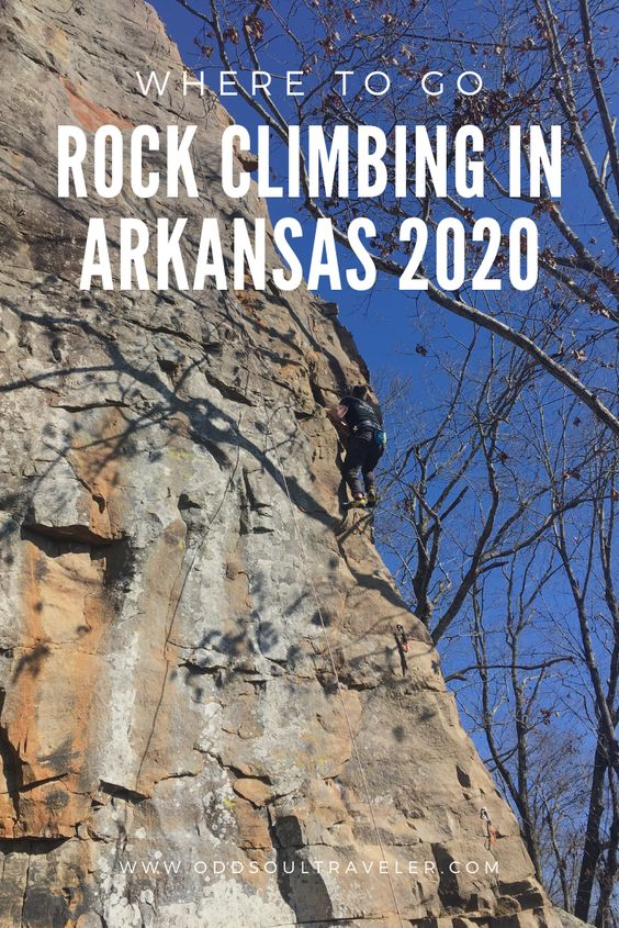 Places to go rock climbing in Northwest Arkansas