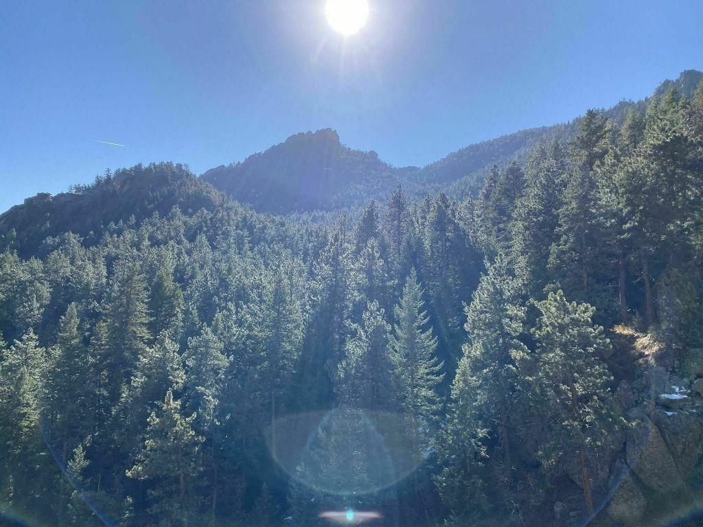 Hiking Flagstaff Mountain in Boulder, Colorado