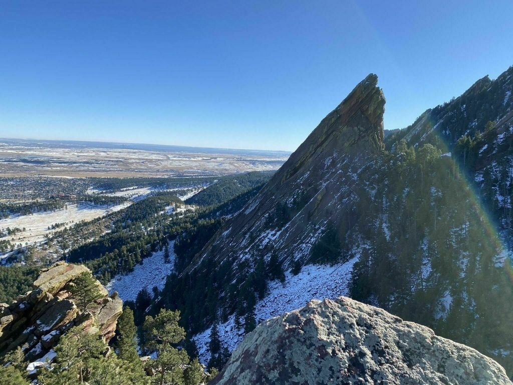 Hiking the Flatirons in Boulder, Colorado