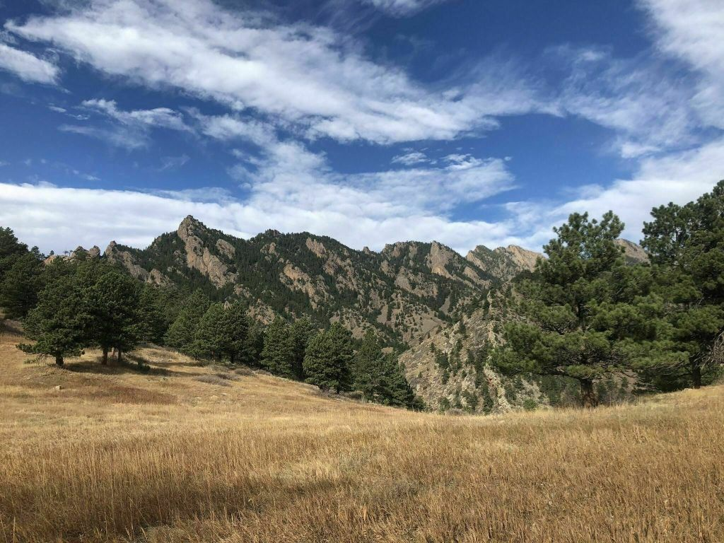 Hiking Fowler Trail in Boulder, Colorado