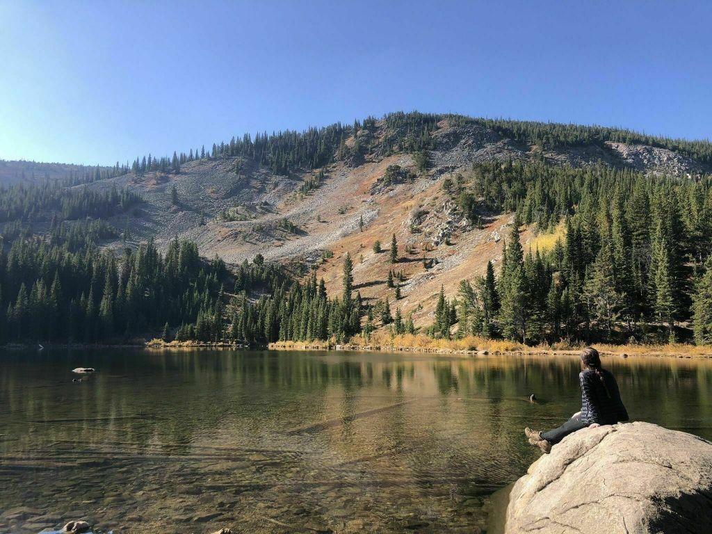 Hiking Lost Lake via the Hessie Trailhead near Nederland, Colorado